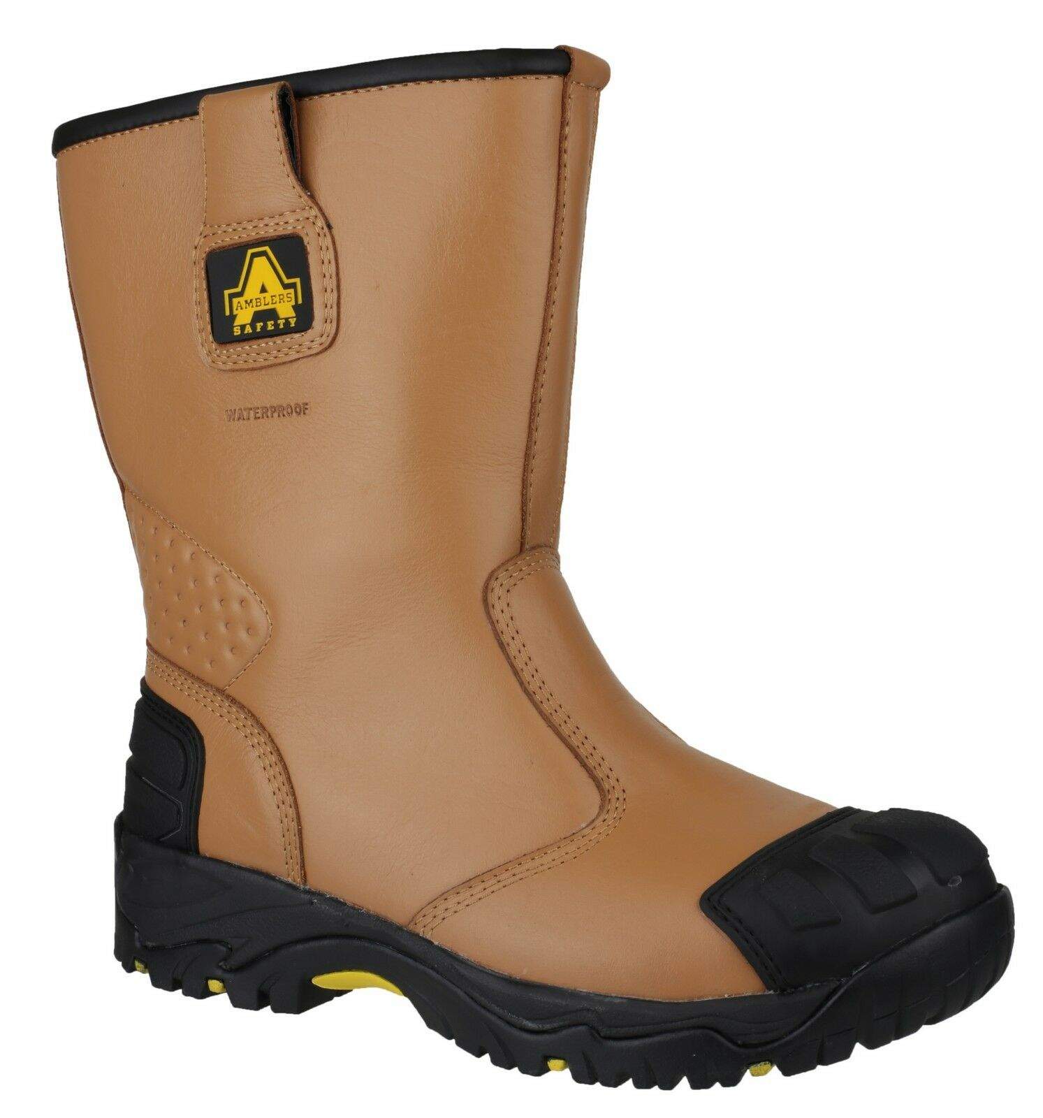 Amblers FS143 Safety Waterproof Mens Steel Toe Cap Rigger Work Boots UK6-15