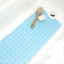 Bathtub Mat Non-Slip PVC Extra Long Shower Mat Bathroom Safety Bar Handrails
