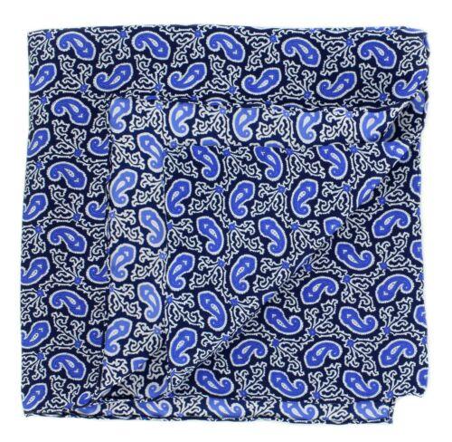 Small Paisley Silk Handkerchiefs Michelsons UK