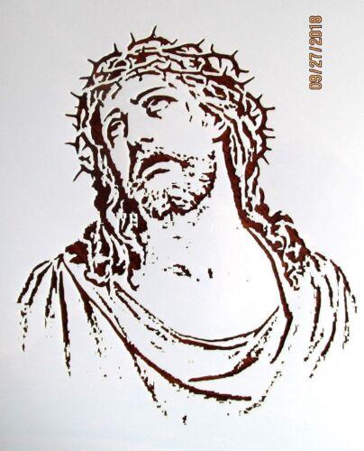 Template Reusable 10 mil Mylar Religious Jesus Christ Stencil