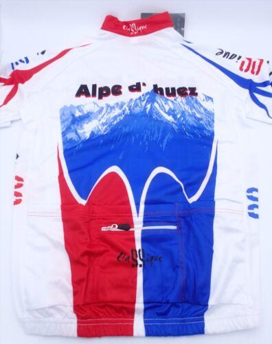Classique Alpe d'Huez Cycling Jersey Men's Size 2XL Bike Jersey Tour de France