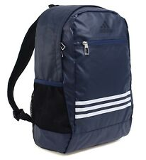 cac2ba594d25 Adidas 3S Stripe 26 Backpack Bags Sports Navy School Casual Running Bag  BR6301