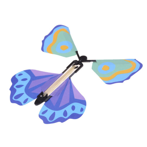 Magic flying butterfly Surprising Gift Wind up Magic Kids Toy Creative Gift 4H