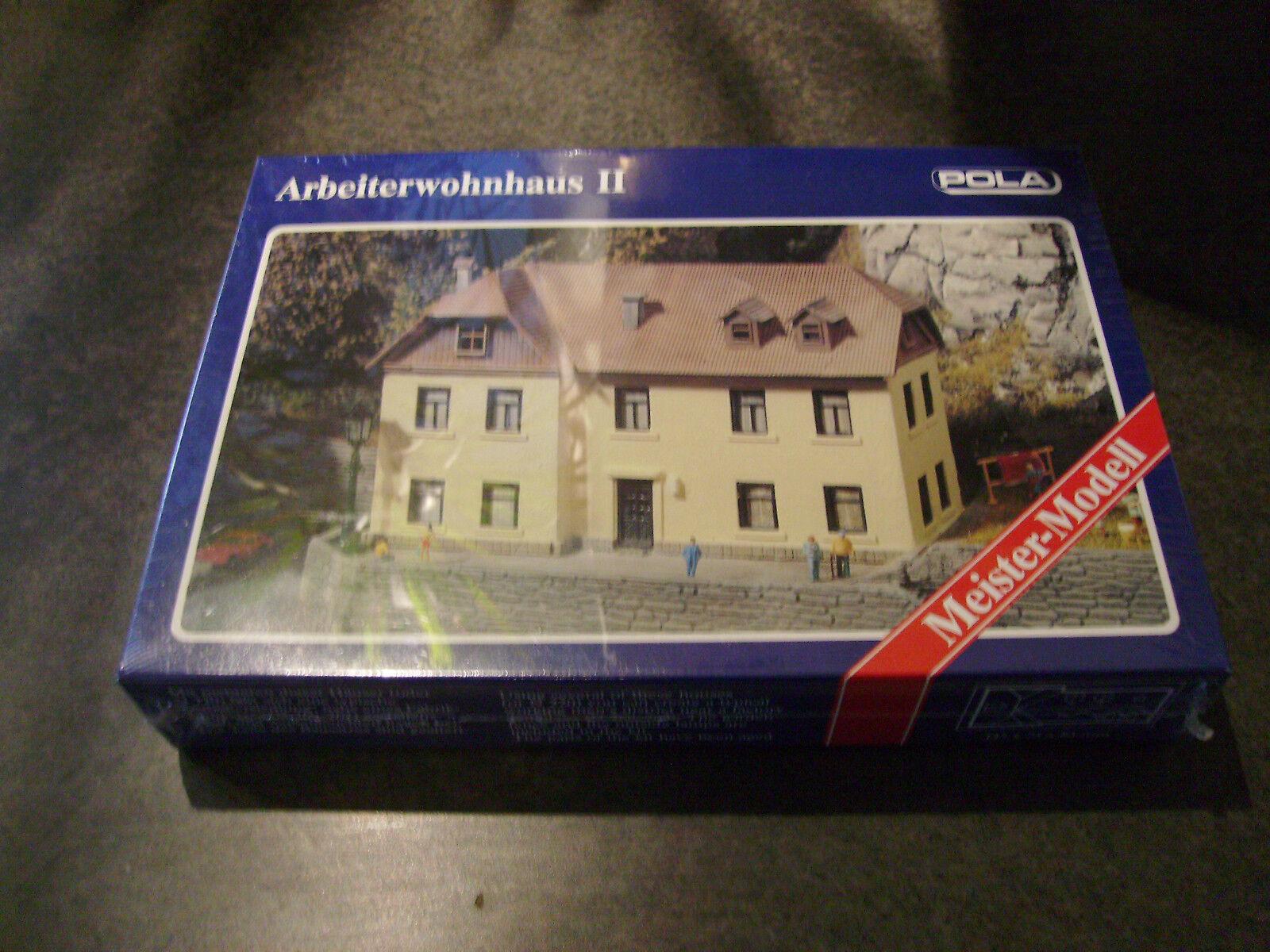 POLA N 258 Arbeiterwohnhaus II N-Scale Model NEW