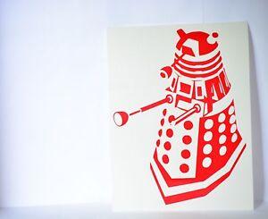 Dalek-Exterminate-Doctor-Dr-Who-Precision-Cut-Vinyl-Decal-Choose-Your-Color