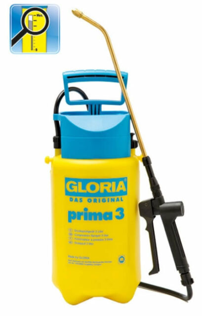 Gloria Drucksprühgerät Prima 3 max. 3 bar Druck Sprühgerät  78.0000