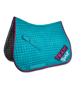 Waldhausen saddle cover ride  team spirit turquoise dr or vs, sale  shop makes buying and selling