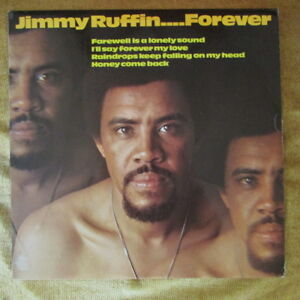 JIMMY RUFFIN LP  FOREVER  FIRST PRESS VG  VG 1970 - Bristol, United Kingdom - JIMMY RUFFIN LP  FOREVER  FIRST PRESS VG  VG 1970 - Bristol, United Kingdom