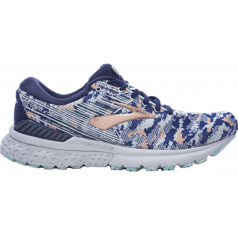 Womens Brooks Adrenaline Gts 19 Camo Edition Women' s Running Runners shoes Navy