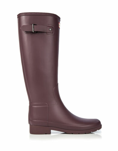 Genuine New Hunter Original Tall Refined Dulse Ladies Wellington Boots UK Size 3 Dulse
