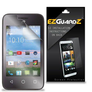 Details about 4X EZguardz Screen Protector 4X For Alcatel OneTouch Pixi  Glitz A463BG (Clear)