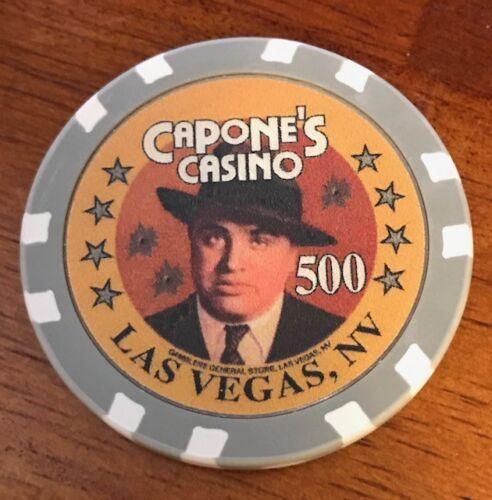 Capone/'s Casino Las Vegas $500 Poker Chip
