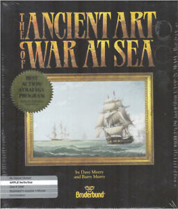 NEW-NOS-FACTORY-SEALED-amp-S-W-THE-ANCIENT-ART-OF-WAR-AT-SEA-GAME-APPLE-II