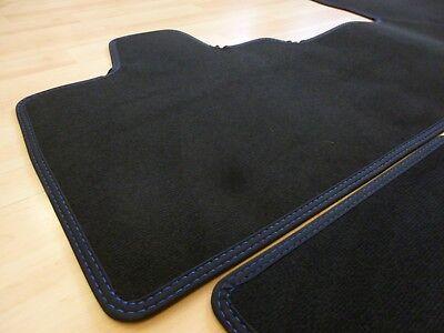 Doppelnaht Blau Maß Neu $$$ Lengenfelder Fußmatten Passend Für Bmw I3 I3