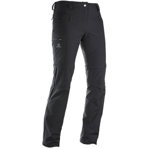 Salomon Wayfarer Zip Pant Damen-Trekkinghose Outdoorhose abtrennbare Hosenbeine