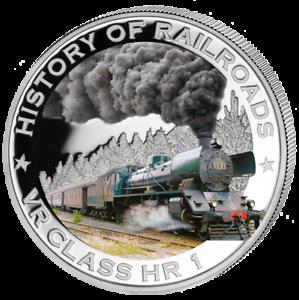 Liberia-2011-Storia-di-Railroads-VR-Classe-Hr-1-a-Prova-di-Argento-Moneta