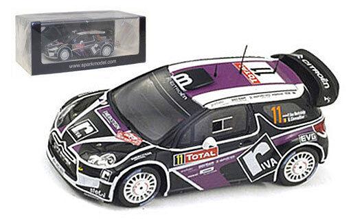 Spark s3329 Citroen Ds3 Wrc Rally De Monte Carlo 2012-Van Merksteijn 1 43