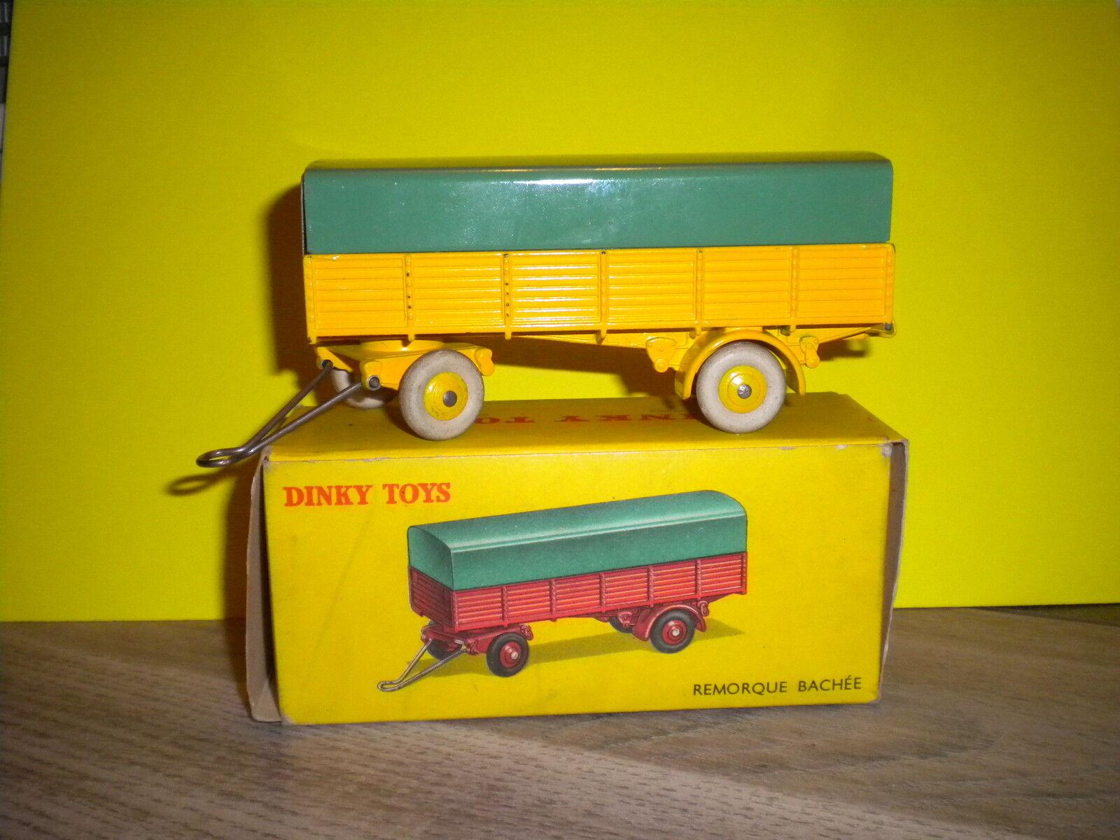 DINKY SpielzeugS = TRES BELLE REMORQUE BACHEE EN BOITE D ORIGINE REF 70