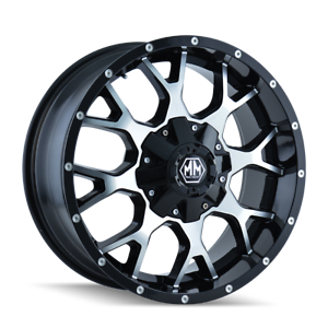 Mayhem-Warrior-8015-Black-and-Machined-20x9-18mm-8x170-8x165-1-Dodge-Ram-Ford