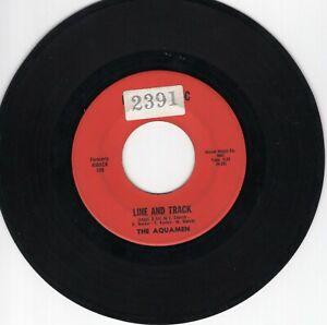 ! The Aquamen 45 Line and Track/Tomorrow HIRICH VG northern soul R&B 108