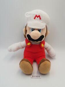 "Super Mario Bros Fire B1503 Sanei Plush 8"" Stuffed Toy Doll Japan"