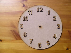 Wooden-Clock-Face-blank-in-MDF-with-numbers
