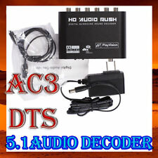 5.1 AC3 DTS HD Audio Digital Sound Decoder Optical SPDIF Coaxial to 6RCA OT8G