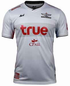 100-Authentic-Bangkok-United-FC-Thailand-Football-Soccer-Jersey-Shirt-White