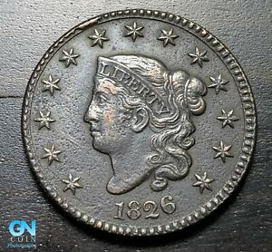 1826 Coronet Head Large Cent   --  MAKE US AN OFFER!  #K3229
