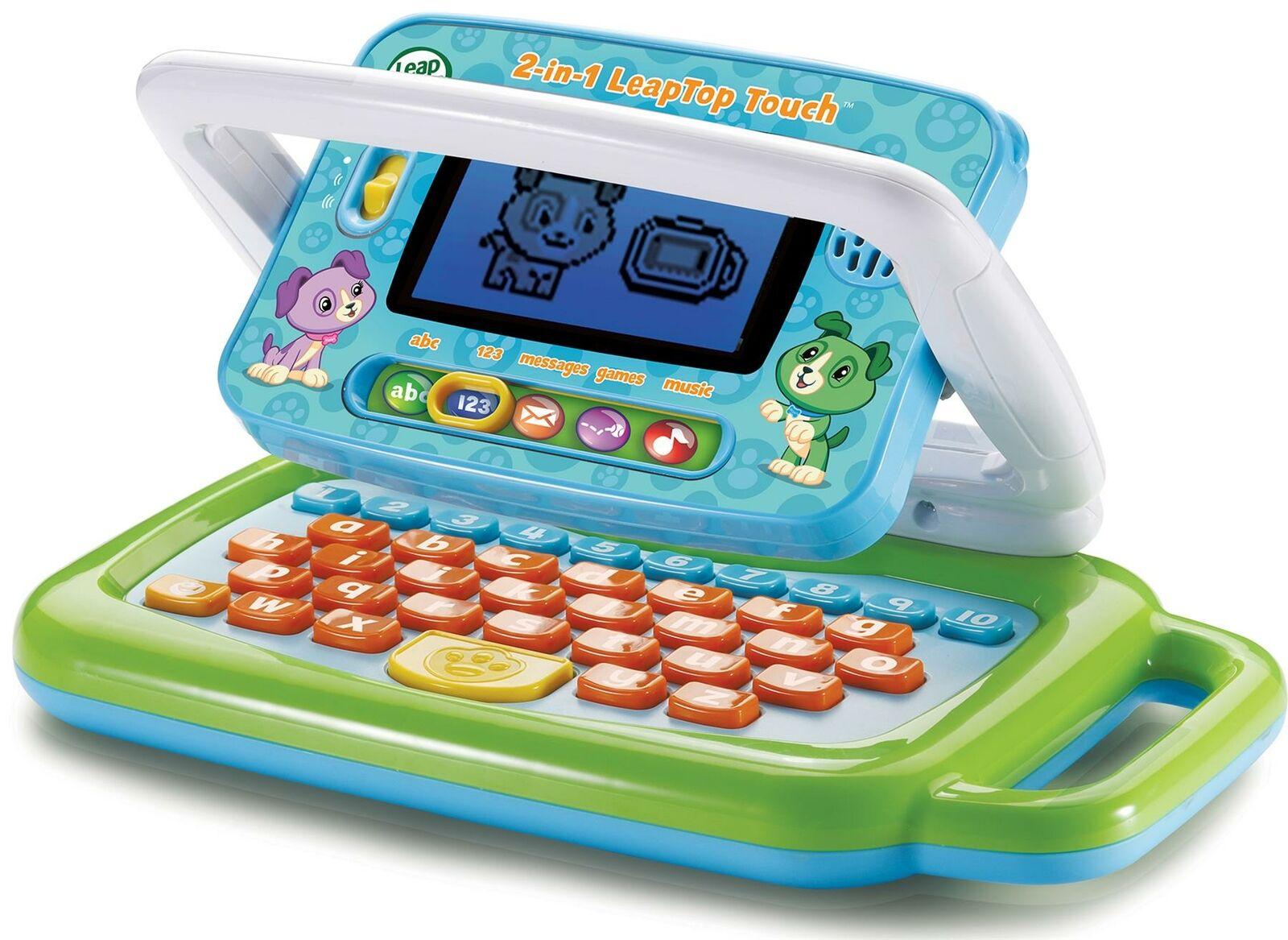 Leapfrog 2 IN 1 Leaptop Touch Bildungs Elektronische Sprechende Kinder Spielzeug