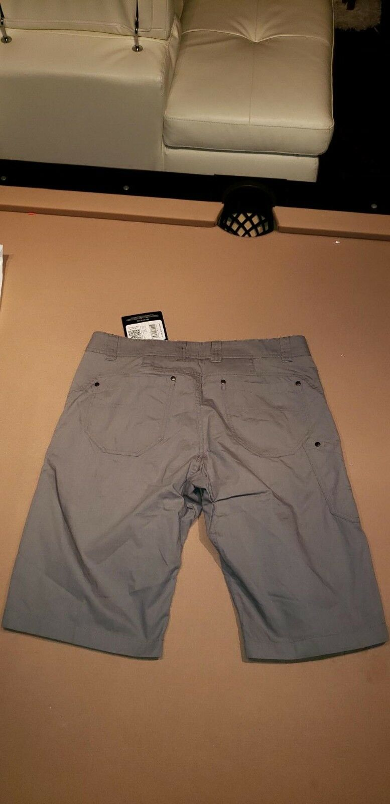 Arc`teryx Men's Bastion Long shorts brand new with tags color Autobahn