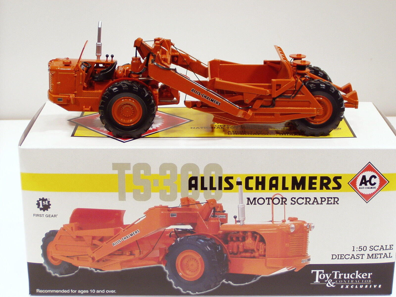 Allis Chalmers TS300 Grattoir -  2007 NTTC  - 1 50 - FIRST GEAR  50-3099