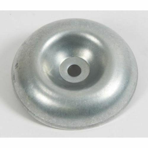 coppa disco sottodisco per decespugliatori in acciaio foro Ø 8 mm ricambio