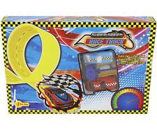 MAX SPEED Auto da Corsa 2 PEZZI con Race Racing Pista Gioco Giocattolo Bambini Regalo