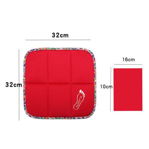 Sitzauflage Camping Sitzpolster Sitzkissen für Outdoor BBQ Wandern Plaid Rot