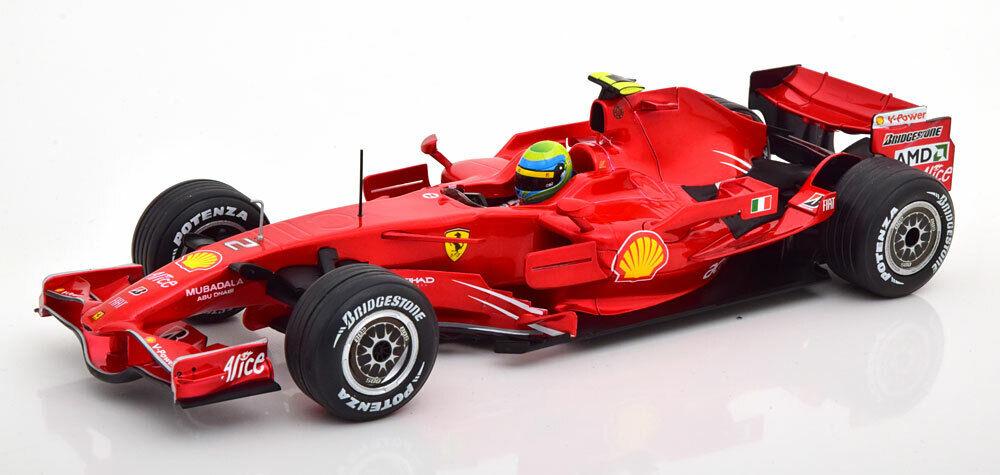 1 18 Hot Wheels Ferrari F-2008 Massa 2008
