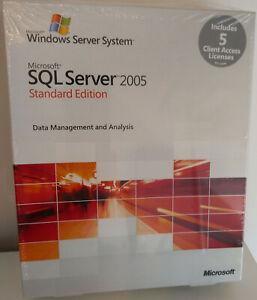 Microsoft SQL Server 2005 Standard Edition - 5 CAL, Englisch, 32 Bit - 228-04029