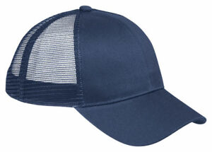 4007b085aa45b Image is loading Big-Accessories-6-Panel-Hat-Structured-Plastic-Closure-