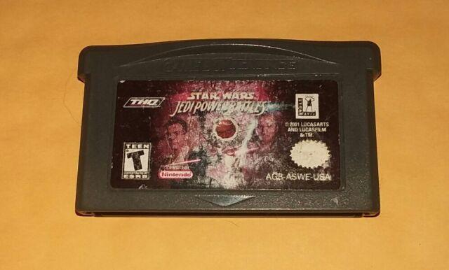 Star Wars: Jedi Power Battles (Nintendo Game Boy Advance, 2001, GBA) Tested