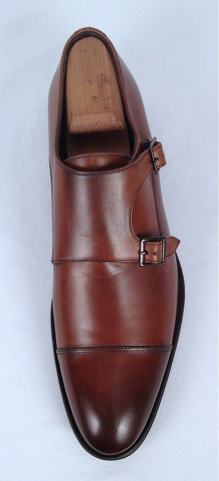 NEW To Stiefel New York 'Medford' Double Monk Monk Monk - Cognac Größe 10 M  425 (C23) f29fb1