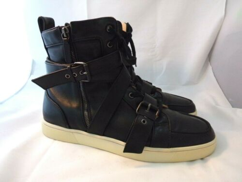 CHRISTIAN LOUBOUTIN 43.5 Spacer Leather High Top S