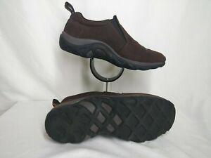 Merrell-Jungle-Moc-Nubuck-Bracken-Brown-Slip-On-Dual-Density-Shoes-Women-Size-7