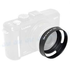 JJC Alumimun LENS HOOD FOR PANASONIC GF1 GF2 14MM 20MM LENS LH-46GF Color Black