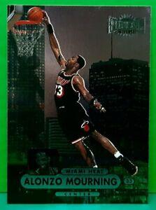 Alonzo Mourning regular card 1997-98 Metal Universe Championship #13