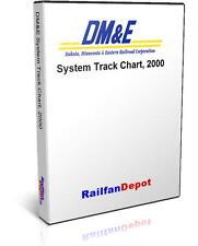 Dakota Minnesota and Eastern Track Chart 2000 - PDF on CD - RailfanDepot