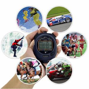 Stoppuhr-Stopp-Uhr-Stopuhr-Digital-Sport-Timer-Uhren-Taschenuhr-10-30-60-Kreis