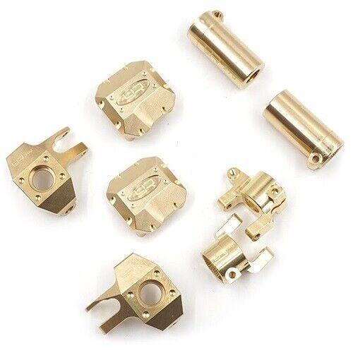 Yeah Racing axial SCX10 II conjunto de piezas de actualización de latón con nudillos concentradores ect AXSC-S01