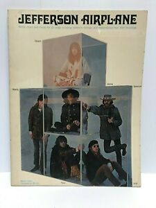 Jefferson Airplane - Words, Music and Chords Book - Song Booklet - 1968