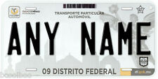 Distrito Federal Mexico Any Name Number Novelty Auto Car License Plate C03
