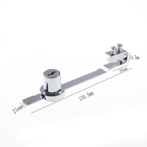 Durable Cabinet Glass Door Lock/&Keys For Reptile Showcase Display Case TR